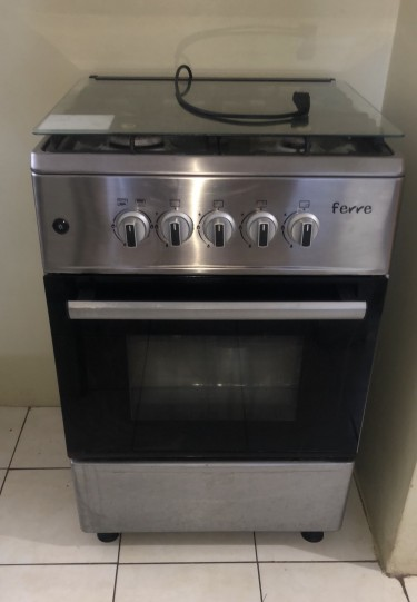 4 Burner Stainless Steel Stove