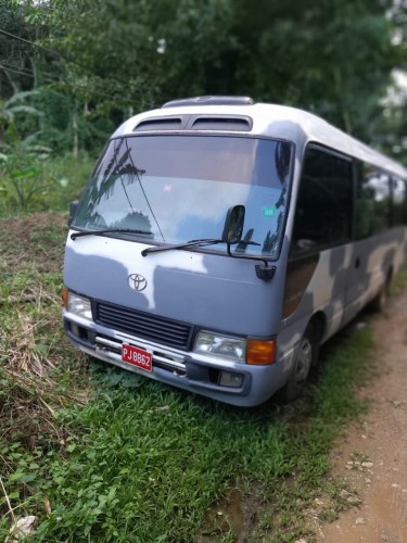 2003 Toyota Coaster Deportee With Bus Route