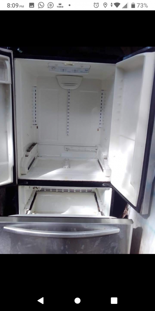 Worldpool Refridgerater Stainless Need Gas Only15k