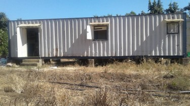 Used 40ft Retrofitted Container Located In Spring