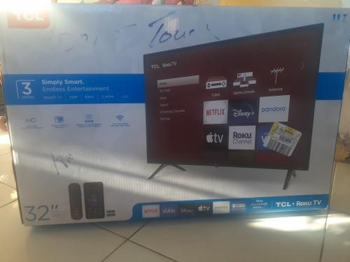 Brand New Tv In Box