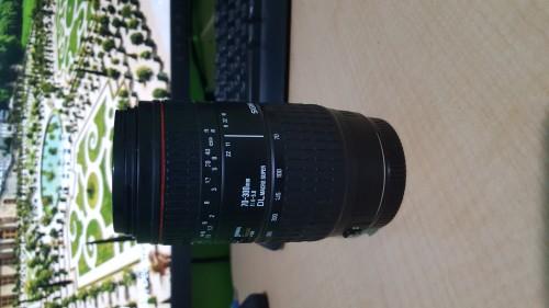70-300mm Sigma Lense (cannon)
