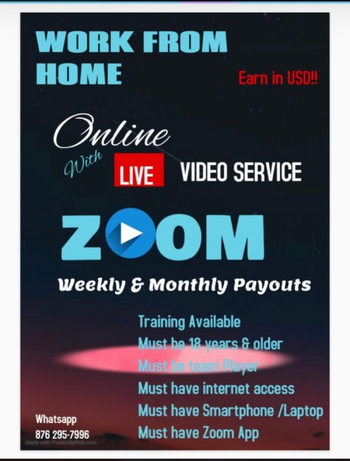 Work From Home Via Phone Or Computer