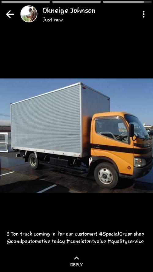 2004 Hino Dutro 5 Tonne Box Truck