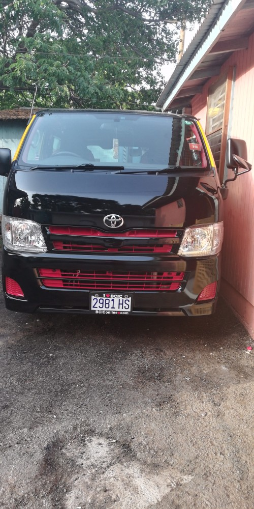 Toyota  Hiace 2013 Turbo Diesel Dx Long