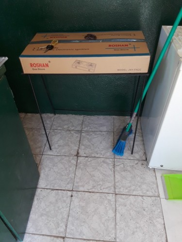 Brand New 2 Burner Gas Stove With Stand