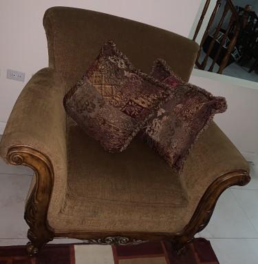 Cindy Crawford Two Piece Sofa