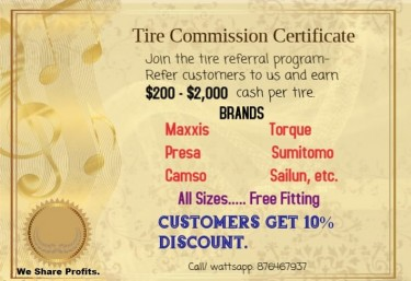 Tires R US  Massive Clearance Sale 200-2000 Cash