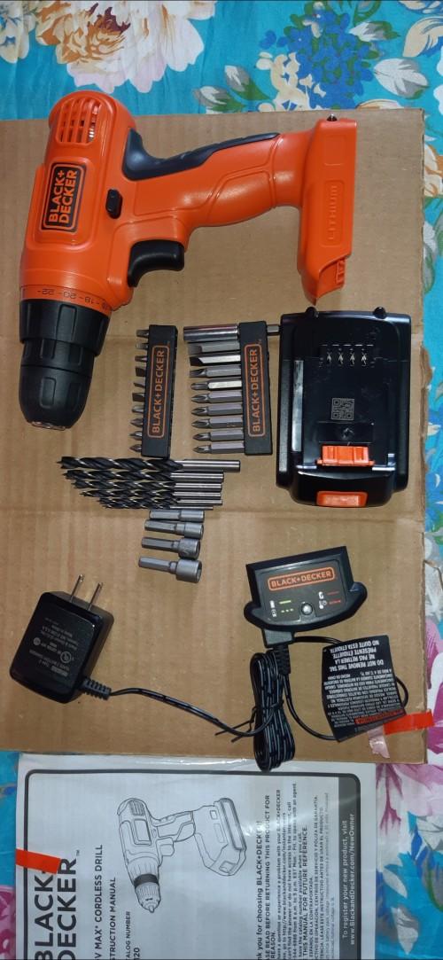 BLACK+DECKER Cordless Drill