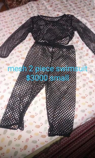 Mesh 2 Piece Bikini Small