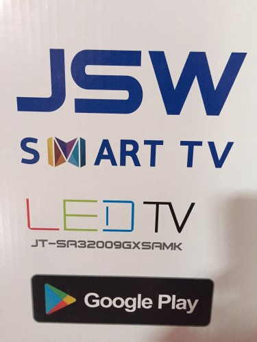 New 4K JSW Smart Tv 32 Inch
