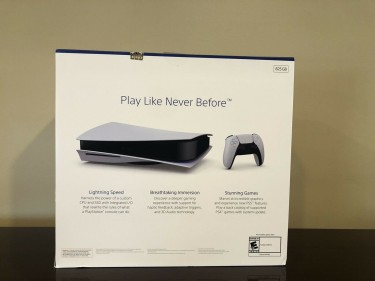 Sony PlayStation 5 PS5 Disc Version Next Gen Cons