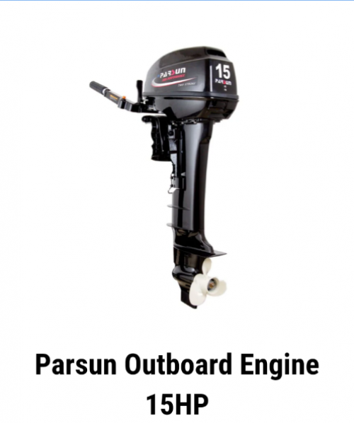 15 HP PARSUN OUTBOARD ENGINE