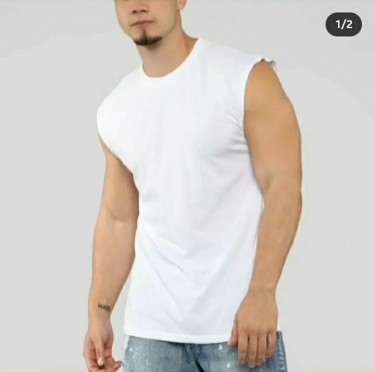 4 Large Men Sleeveless, Casual Shirt ( 2 L & 2M)