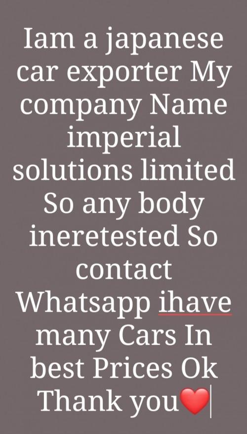 Iam Japanese Car Exporter Agent Os ISL
