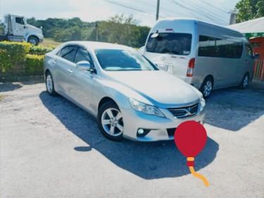 2010 Toyota Mark X SPORTS
