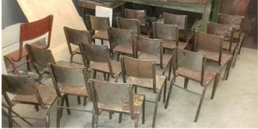 Metal Kids Chairs For Sale
