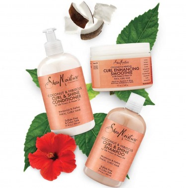 Shea Moisture Coconut And Hibiscus Combination Pac
