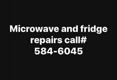 Washing Machine And Microwave Repairs