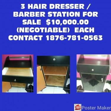 Barber & Hairdresser Booths