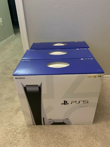 New Sony PlayStation 5 Console Disc Version