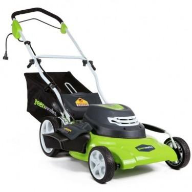 Greenworks Electric Lawnmower