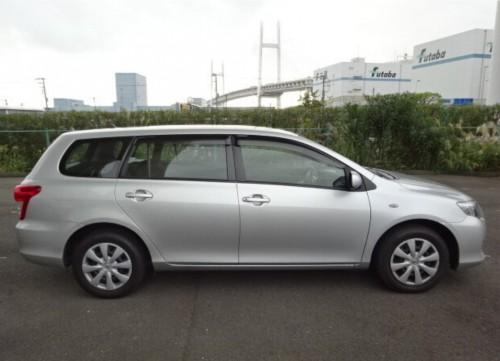2011 Toyota Fielder Soon Arrive To Jamaica