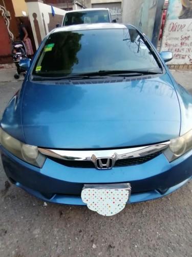 2011 Blue Honda Civic