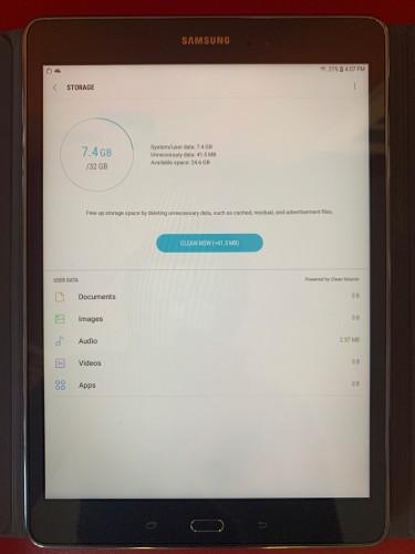 """Mint Condition Samsung Galaxy Tab A 9.7"""" 32GB"""