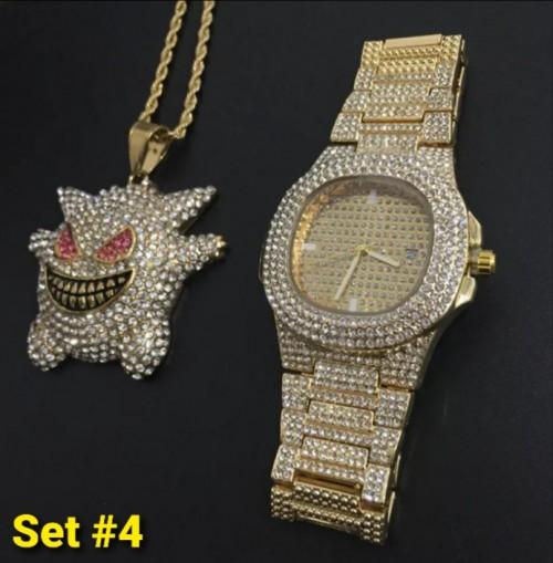 Icedout Jewelry Set 4