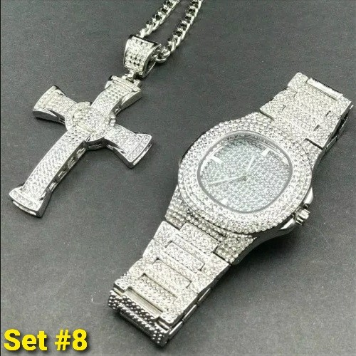Icedout Jewelry Set 8