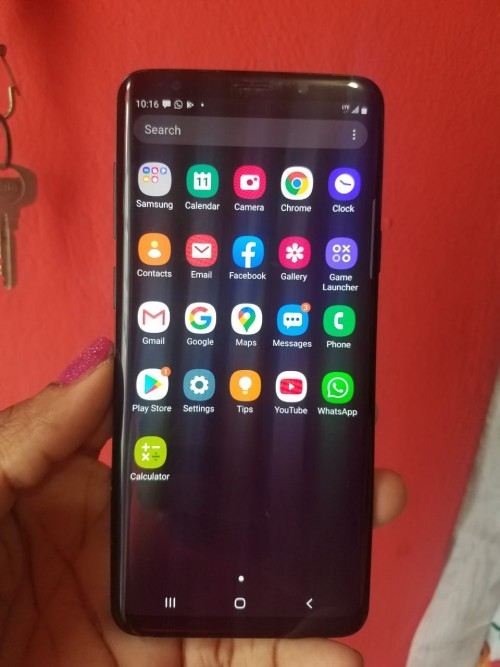 Samsung S9plus BACK CRACK ONLY