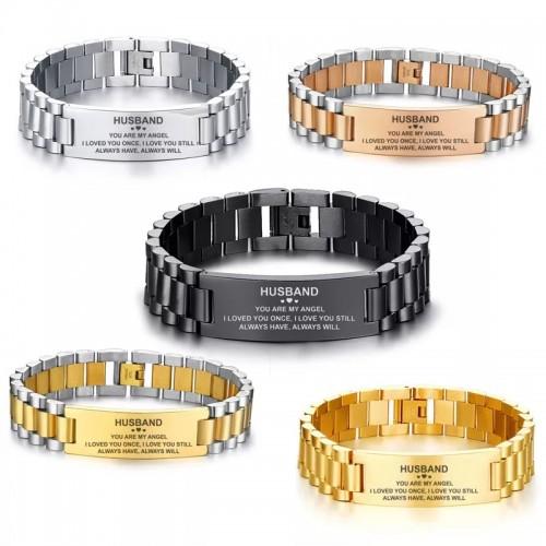 Stainless Steel Customized Bracelet