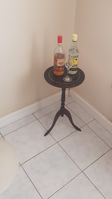 Wooden Wine Table