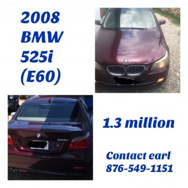 2008 BMW 525i