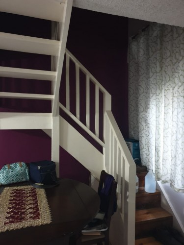 3BR 2BTH, 1,100 Sqft Two Floor Apt With Balcony