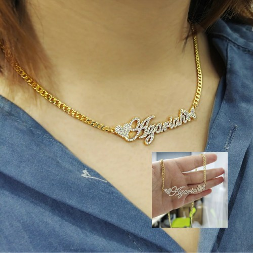Stainless Steel Custom Name Chocker Necklace