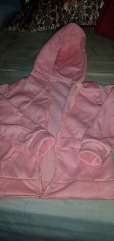 Female Pink Big Head Hoodie