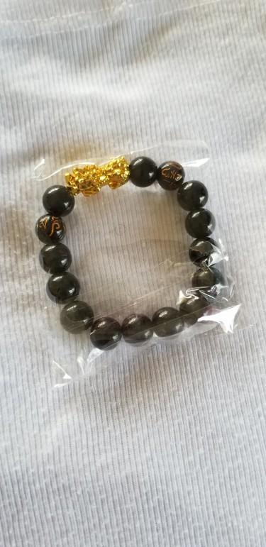 Original Feng Shui Obsidian Good Luck Bracelet