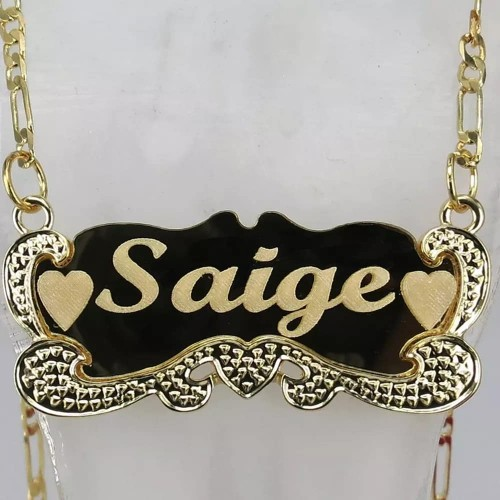 Customized Name Plated Stainless Steel Necklace