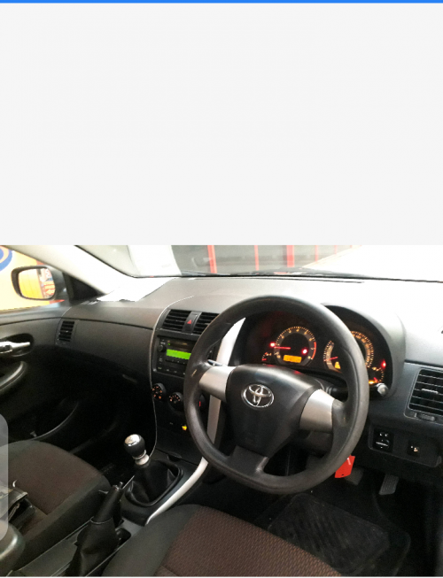 2016 Toyota Corolla Quest 1.6 Manual
