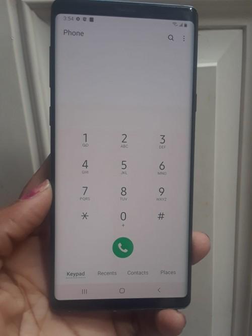 Samsung Note 9 Slightly Screen Burn