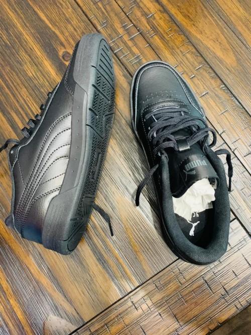 Black Puma Boys Shoes