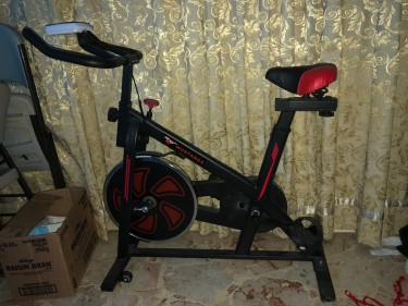 Used Only Twice Stationary Bike ( Exercise Bike )