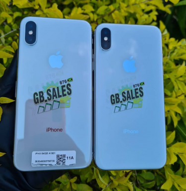IPhone X Unlocked 64gb (Silver)