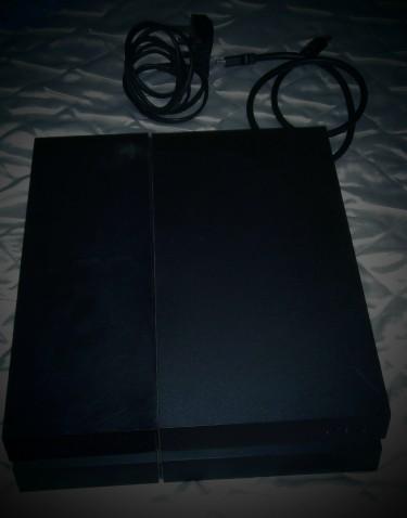 Sony PS4 Jet Black