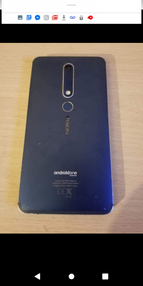 Nokia Late Version Wide Finger Print Case 15k Ng14