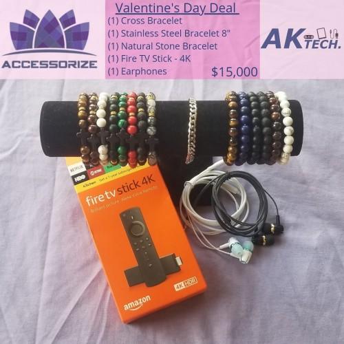 Fire Stick,  Earphones And Bracelet Deal