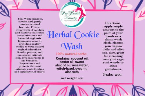 Herbal Cookie Wash (yoni Wash)
