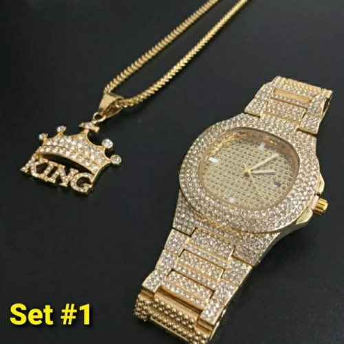 Iced Out Jewelry Set 1